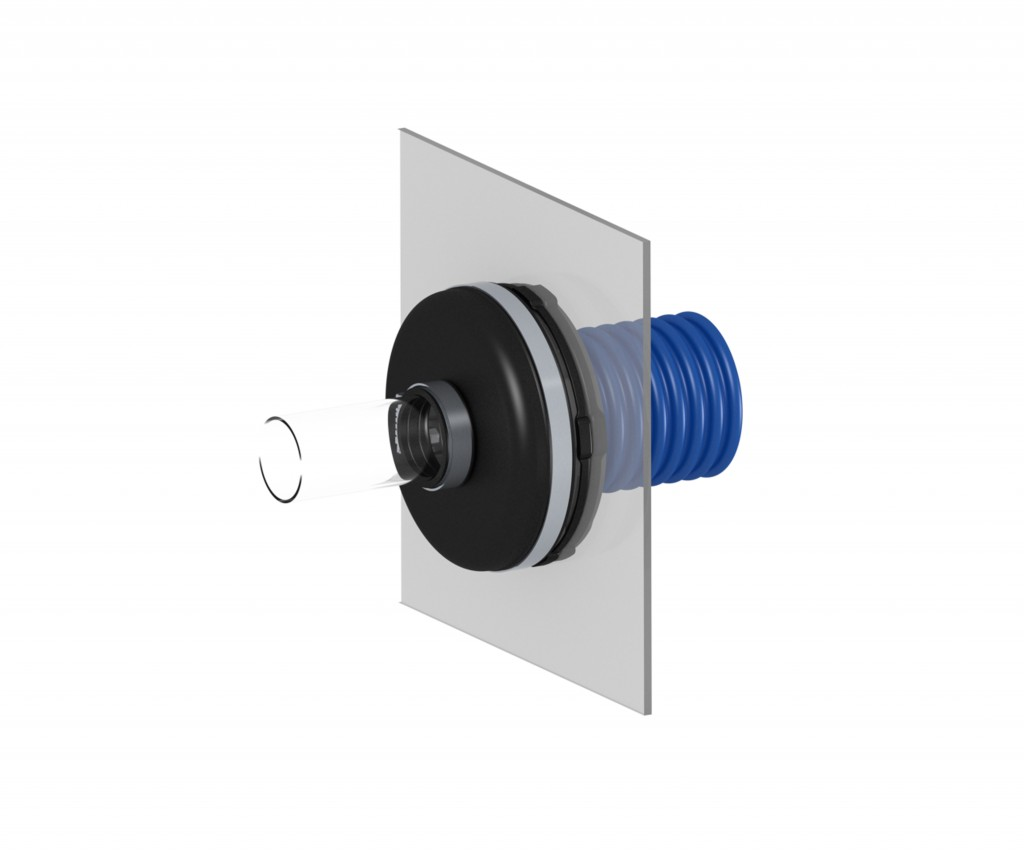 flexible entry fitting